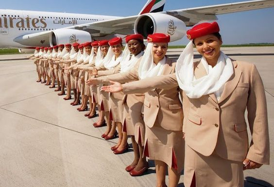 Salary Of Emirates Flight Attendants, Benefits And