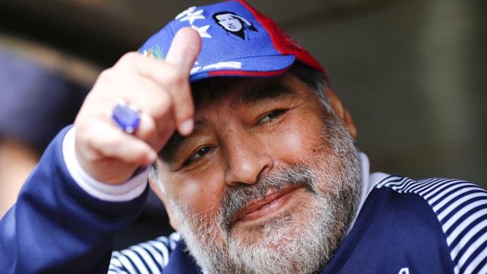 Biography diego maradona Biography of