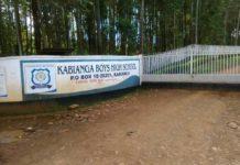 Kabianga Boys High School Principal, Performance, Co-curricular ActivitiesAnd Contacts